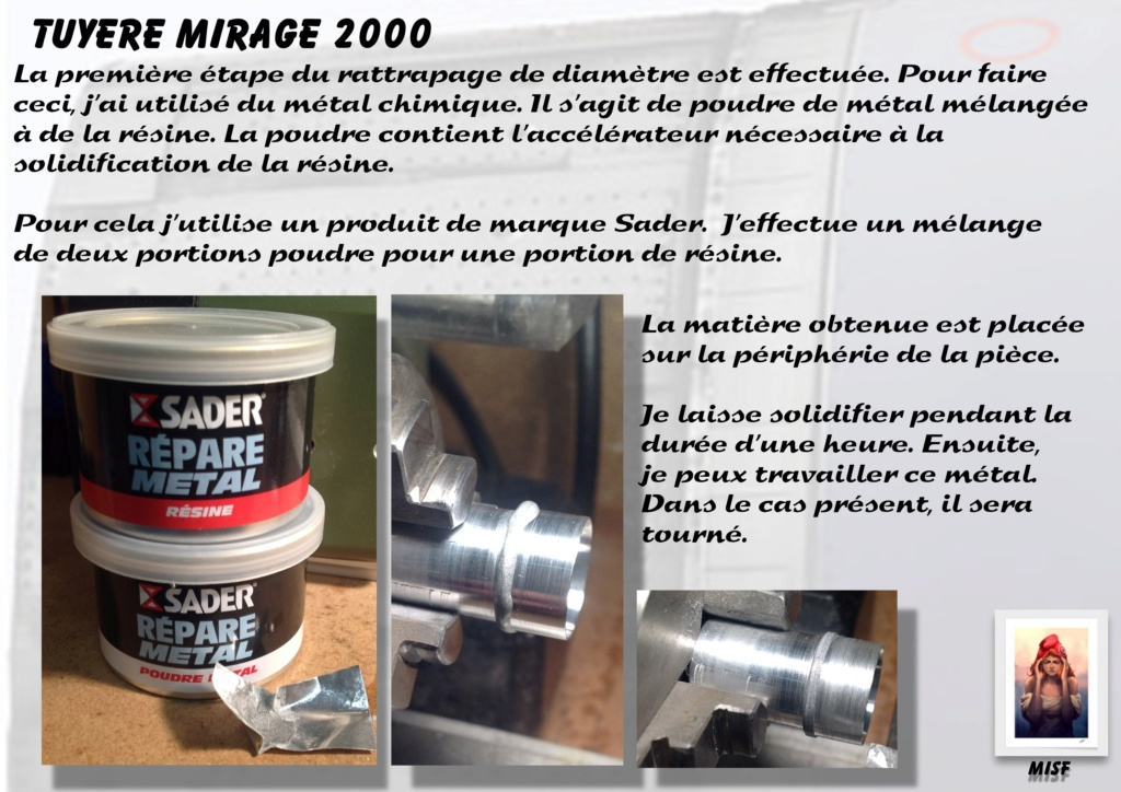 Tuyère Dassault Mirage 2000 - Scratch - Pour base Heller  Tuyere58