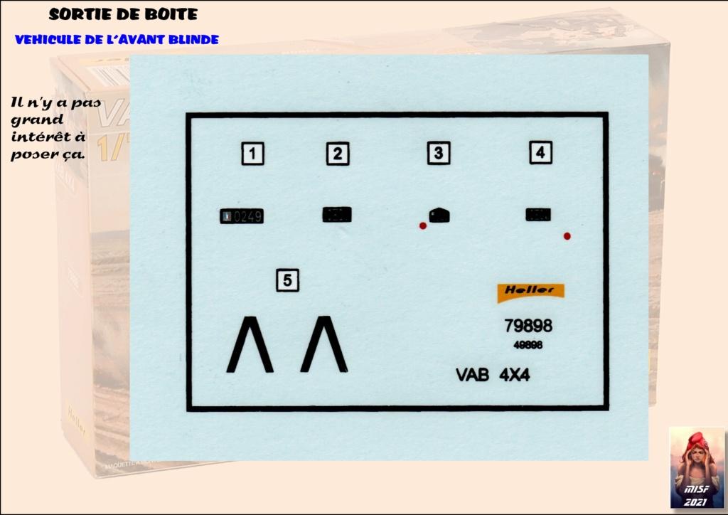 From the box - SAVIEM VAB 4x4 - Heller - 1/72ème Réf 79898 *** Terminé en pg 3 Vab_0010