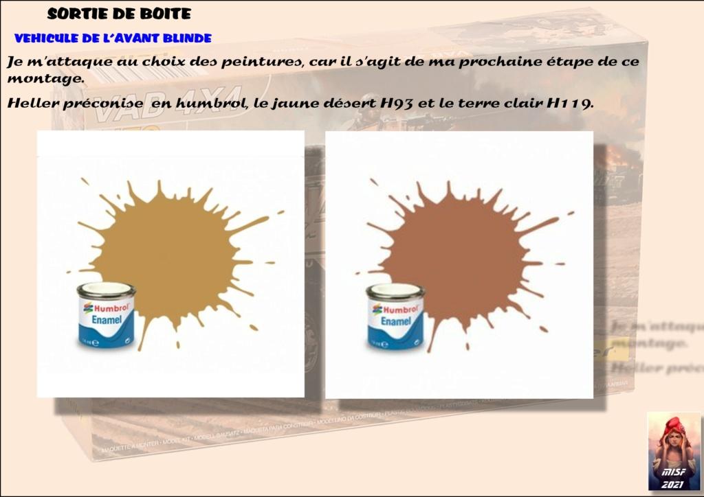 From the box - SAVIEM VAB 4x4 - Heller - 1/72ème Réf 79898 - fini en page 3 - Page 2 Vab_0020