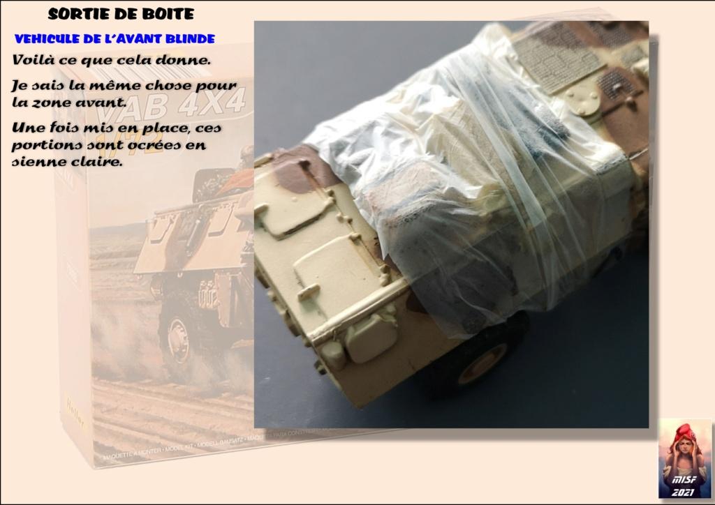 From the box - SAVIEM VAB 4x4 - Heller - 1/72ème Réf 79898 - fini en page 3 - Page 2 Vab_0035