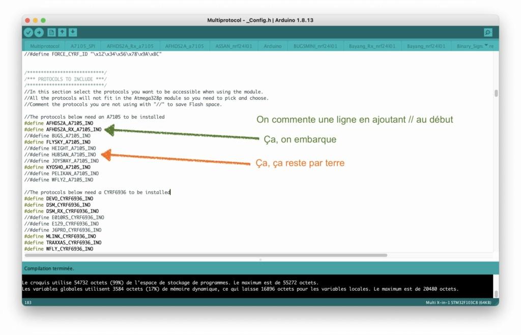 [Tuto] Flashage du module URUAV TMX5 Lite (multi-protocoles) - Page 2 Arduin12