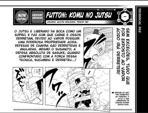 Mei terumi é a kunoichi mais poderosa no dito e pelo pouco mostrado  ??  Futon10