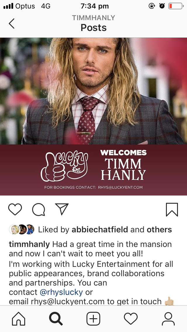 Timm Hanly - Timm The Magnificent - Bachelorette Australia - Season 5 - Discussion - Page 17 51e5f510