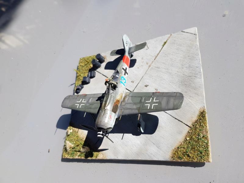 Retour de Mission (FW-190A8 1/72) 20200512