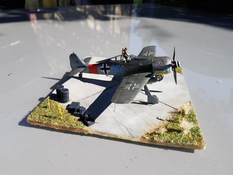 Retour de Mission (FW-190A8 1/72) Droite12