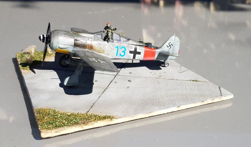 Retour de Mission (FW-190A8 1/72) Gauche12