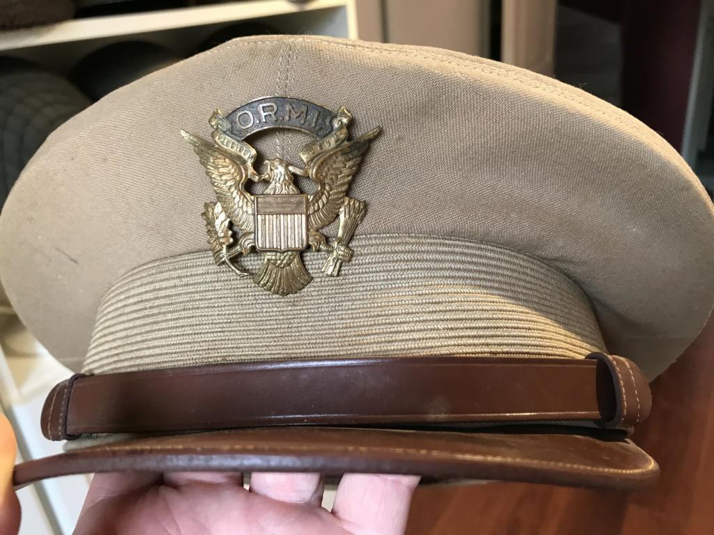Casquette officier Tropicale US  A5029e10