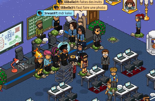 Gang des fous dans la salle de cour de lilibelle31 N_immp10