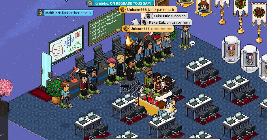 Gang des fous dans la salle de cour de lilibelle31 Ptdrrr10