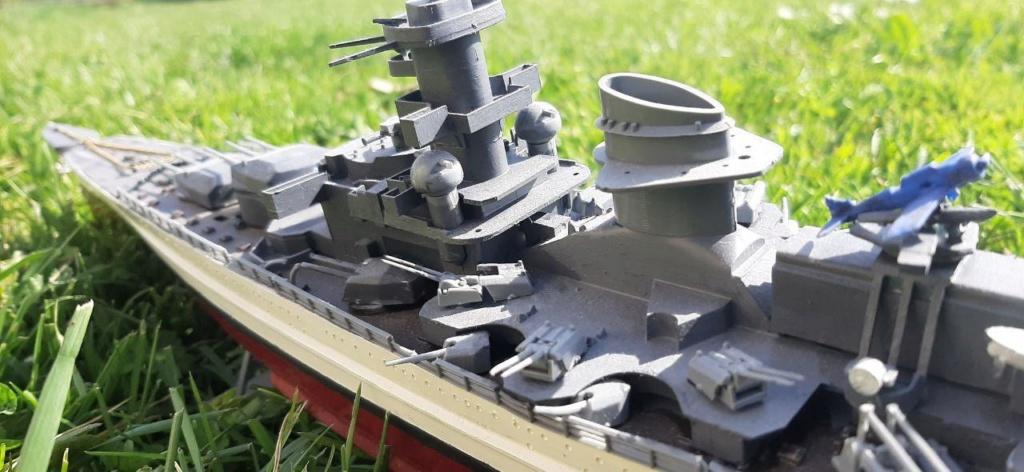 Scharnhorst - 1/400 - Heller  Photo_13