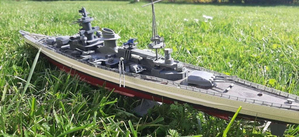 Scharnhorst - 1/400 - Heller  Photo_17