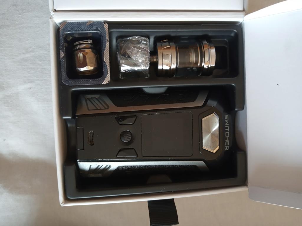 Vaporesso switcher + nunchaku tank + regalos  Img_2010