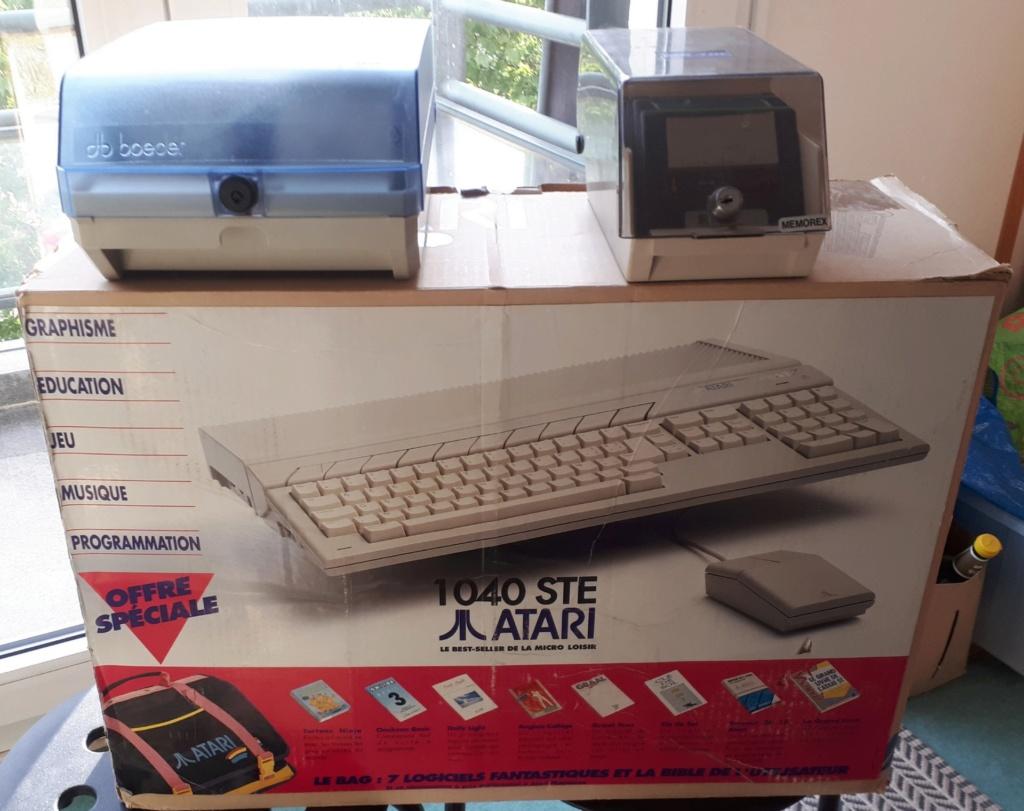 [VENDU] Atari 1040 STE avec carton d'origine + lot disquettes 20200517