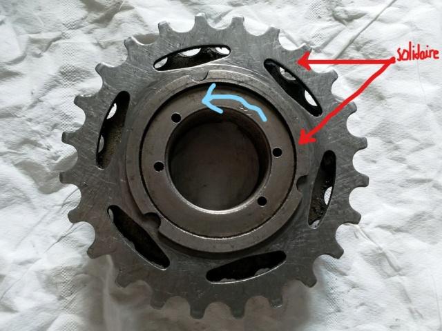 Démontage d'une roue libre Maillard (vélo Gitane Leader 1986) Face_i11