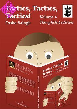 Tactics, Tactics, Tactics! Vol.4 - Csaba Balogh PDF+PGN+ePub Ggg13