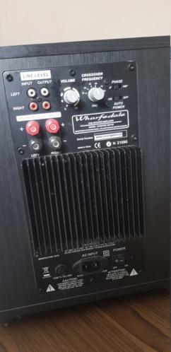 Home Theater Set Onkyo TX-NR646 + Wharfedale Speaker (Used) 510