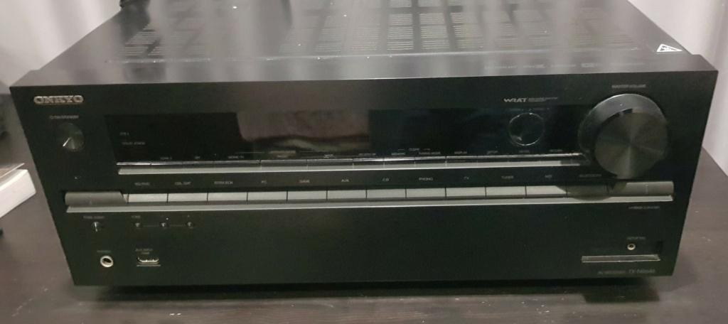Home Theater Set Onkyo TX-NR646 + Wharfedale Speaker (Used) 910