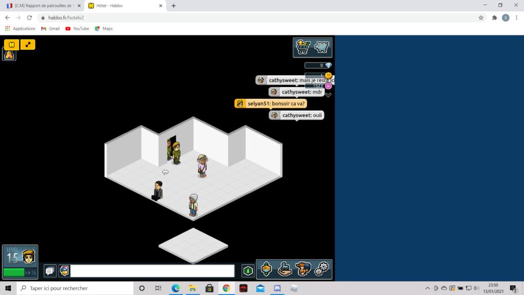 [C.M] Rapport de patrouilles de Selyan51 2021-023
