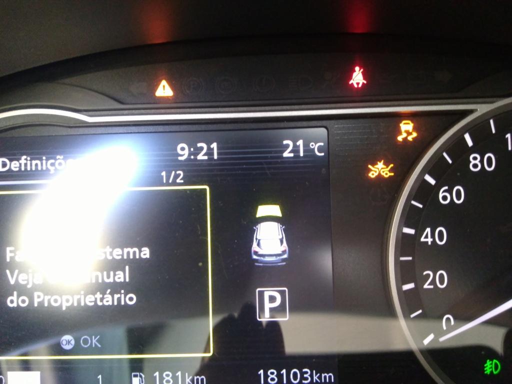 Luzes indicadoras de anomalia, porém o carro não apresenta defeito. Img_2011