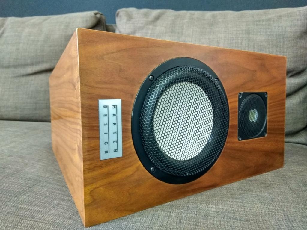 Marten design alice center speaker(used) Img_2031