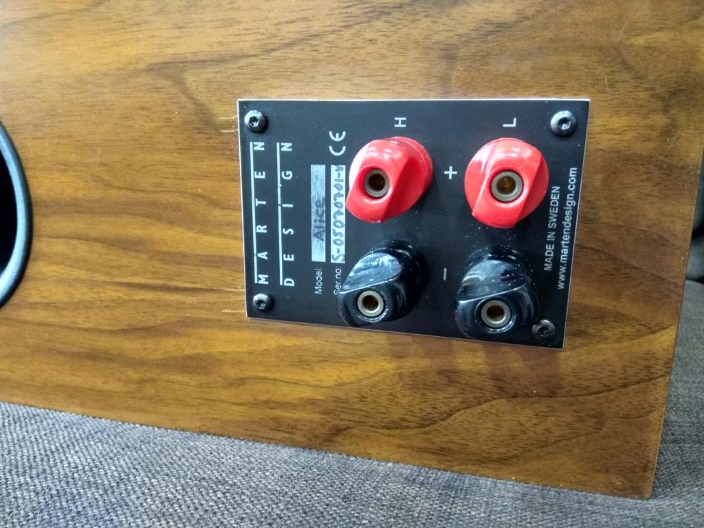 Marten design alice center speaker(used) Img_2032