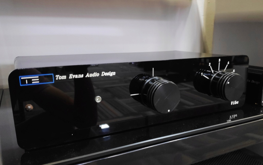 Tom evans audio design the vibe(used) Img_2035