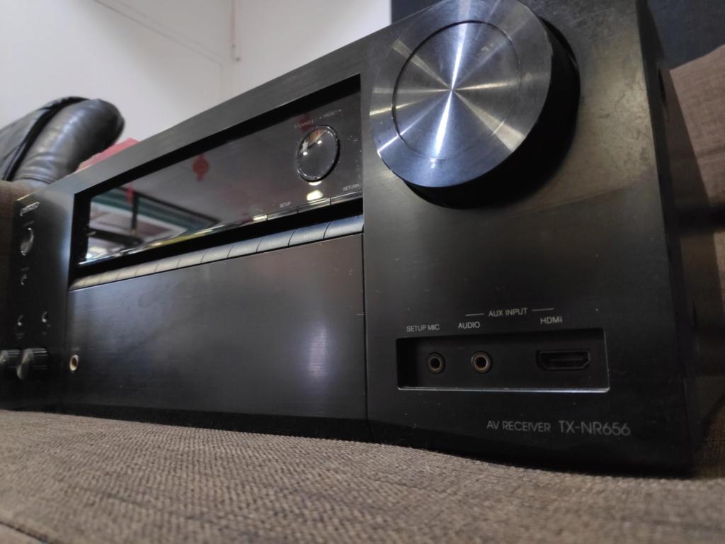 Onkyo TX-NR656 av receiver(used) Img_2046