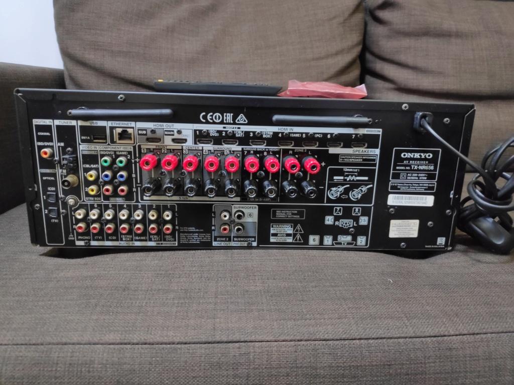 Onkyo TX-NR656 av receiver(used) Img_2047