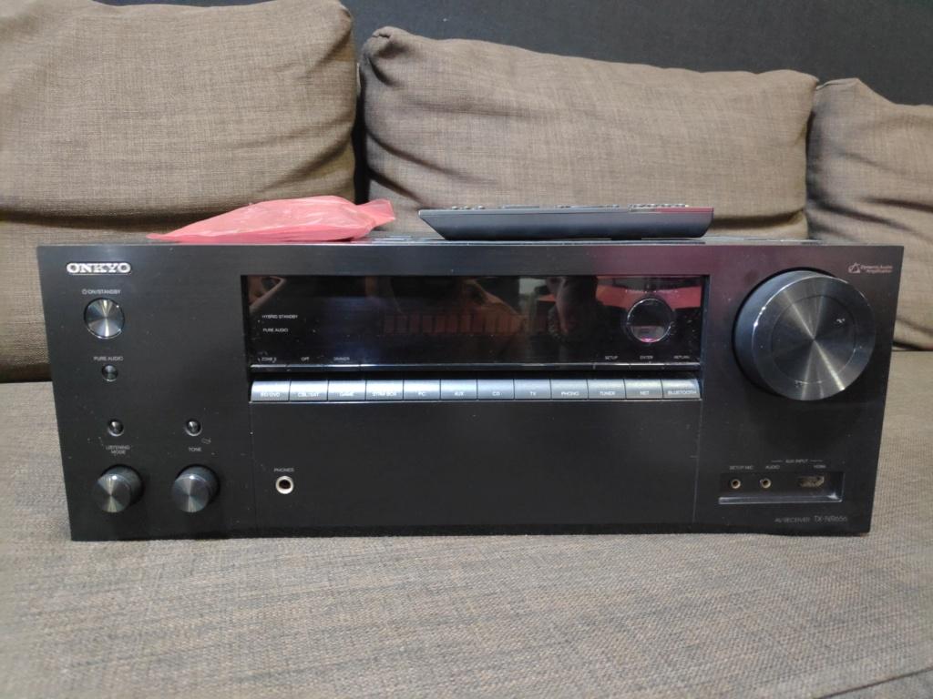 Onkyo TX-NR656 av receiver(used) Img_2049