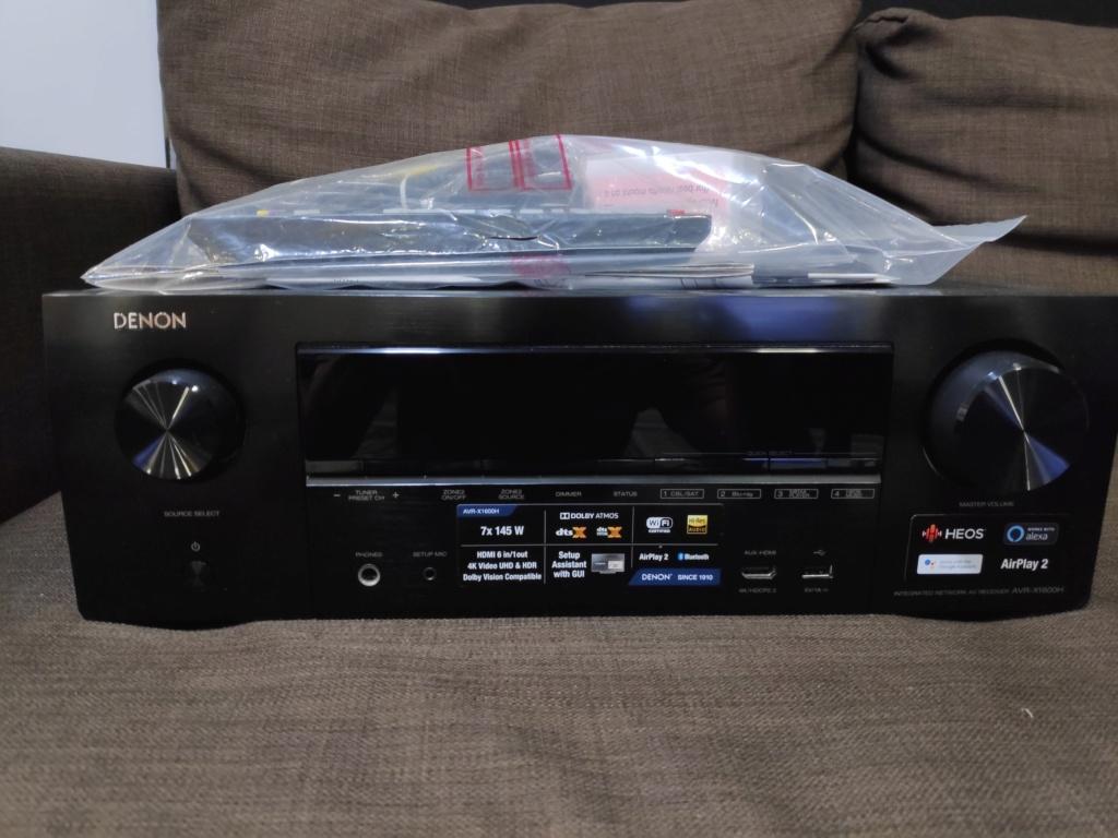 Denon AVR-X1600H av receiver(used) SOLD Img_2051