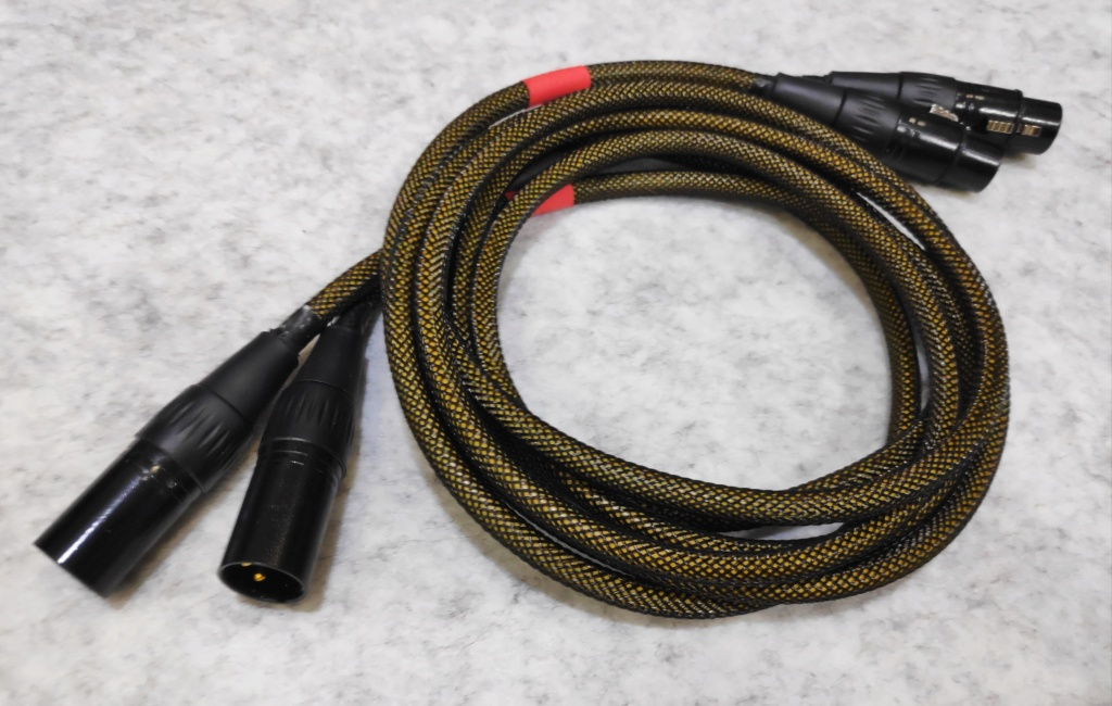 Atlas Quadstar XLR Cable(USED) Img_2094