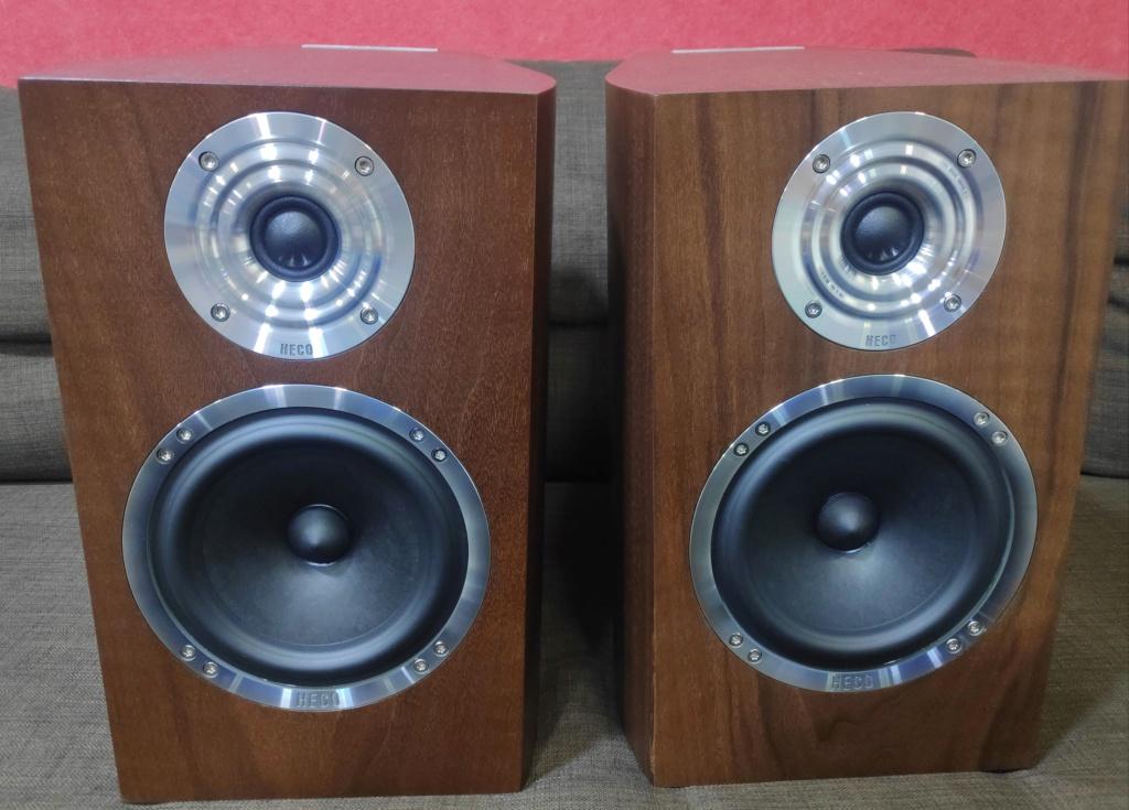 HECO Celan Revolution 3 bookshelf speakers (used) Img_2095