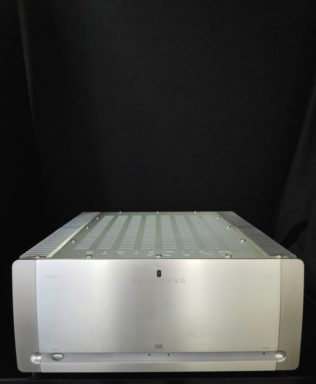 Parasound A21 Power Amplifier(used) Img_2108