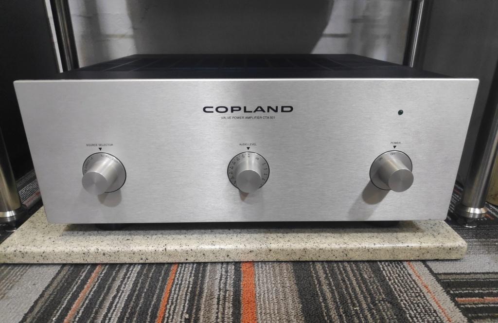 Copland Valve Power Amplifier CTA 501(USED) Wechat12