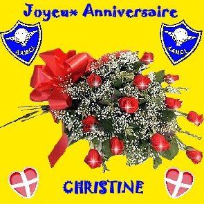 Le 23 septembre c'est l'anniversaire de Christine Thouzé. Aamci105