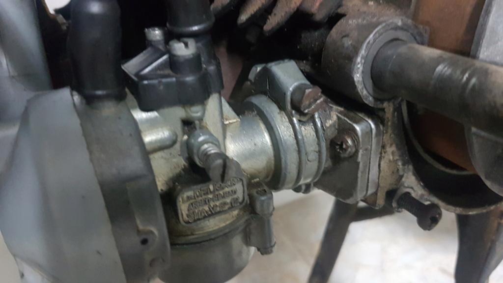 Dificultades para carburar Vespino 20210312
