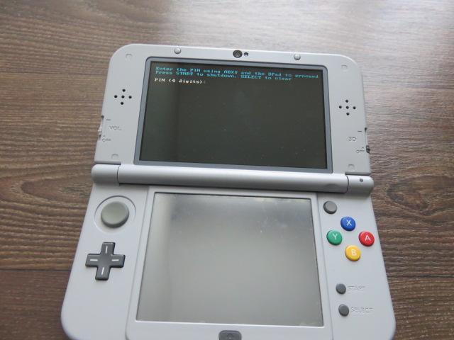 New 3ds écran noir Img_0010