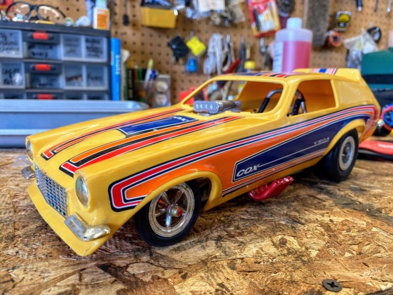 Cox Vega Funny Car - Rear Wheel Nut Img_9316