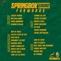 Springbok Squad announced 5ebd0110