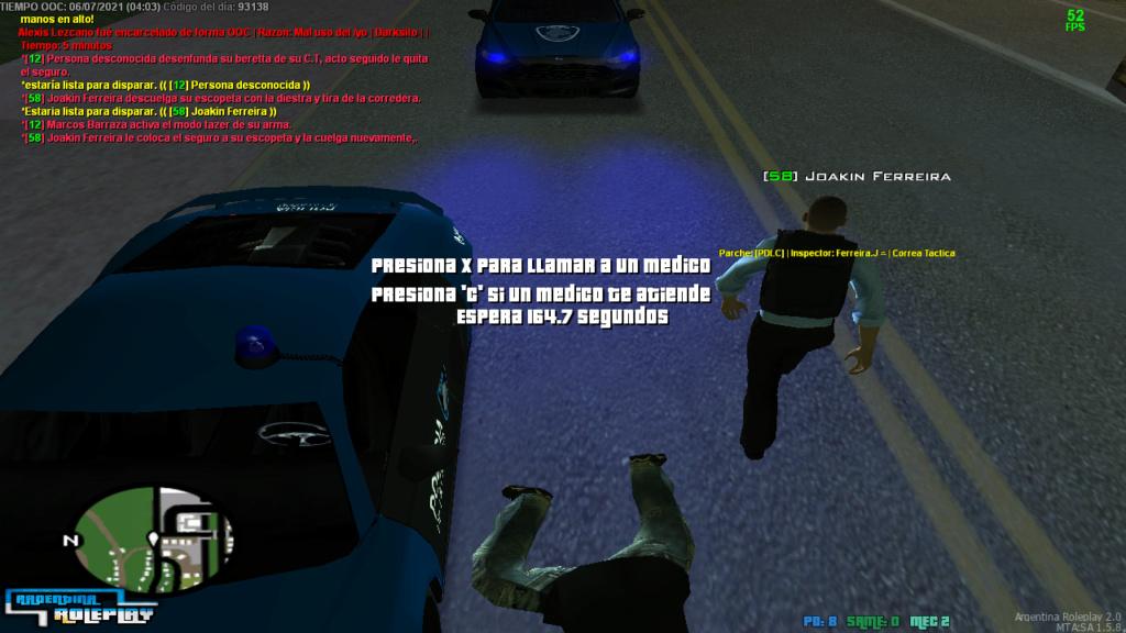 reporte a 2 oficiales Mta-sc16