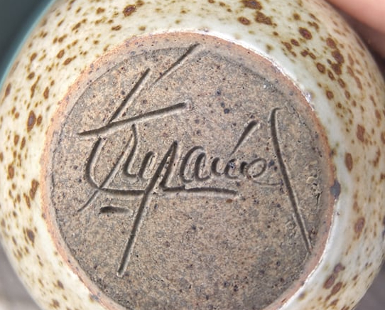 Identify Potters Signature, France?  24094310