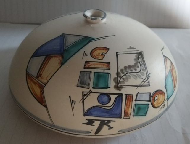 Weed Pot - Potters Identification ETK or ETR mark  24112310