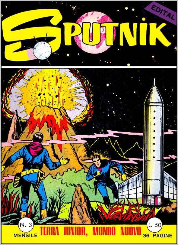 Météor en italien dans Sputnik Sputni10