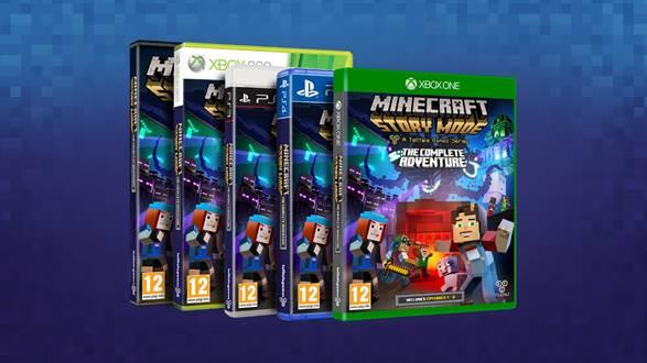 Minecraft: Story Mode - The Complete Adventure bientôt disponible ! Cid_im11
