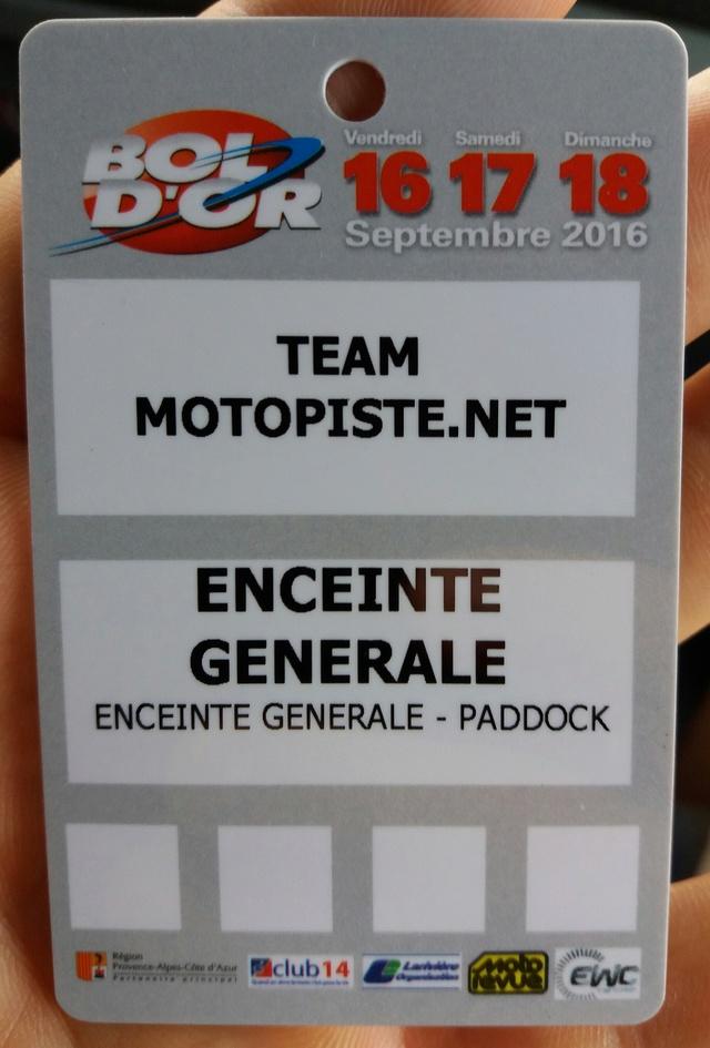 TEAM MOTOPISTE AU BOL D ARGENT 2016 : 5èmes !!! 20160950
