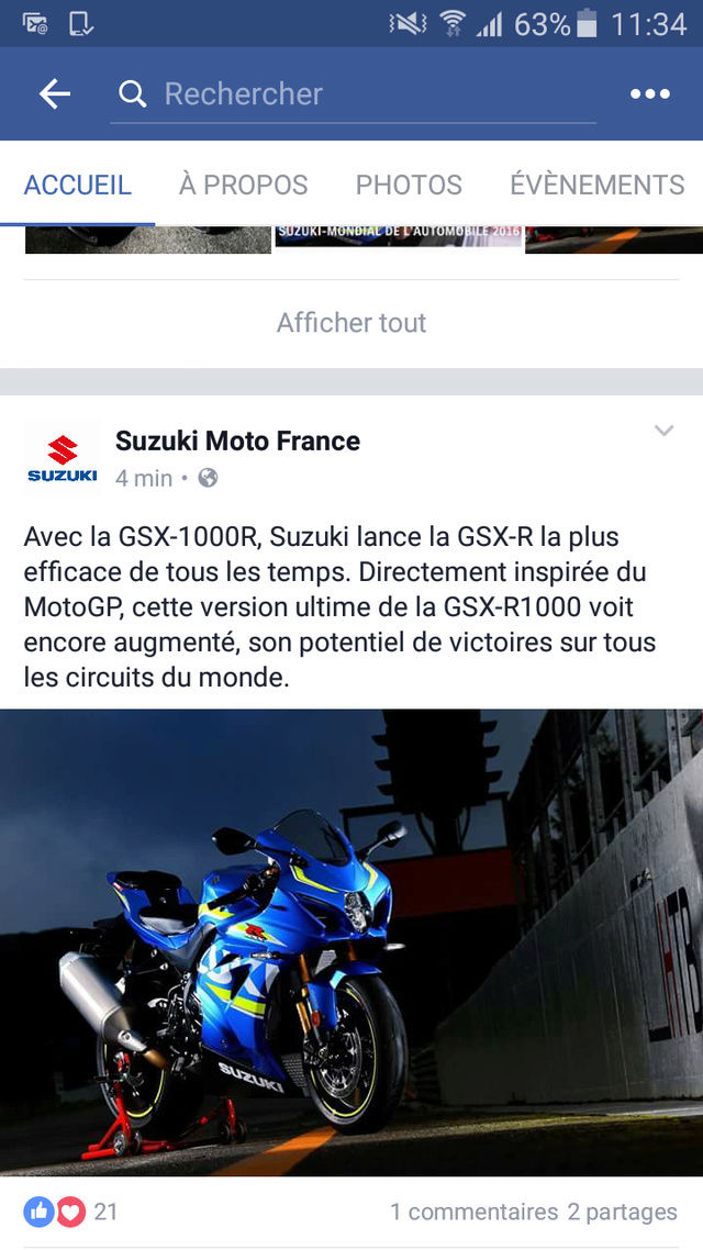Suzuki GSXR 1000 2017 Screen13