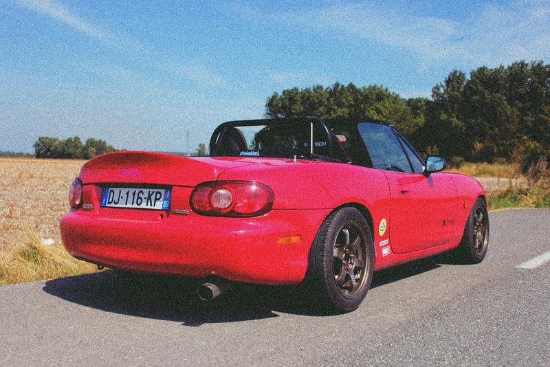 Bmw ae36 + Mazda Roadster NB8C peinture ok Img_2610
