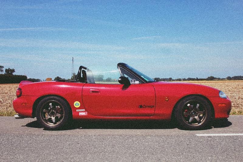 Bmw ae36 + Mazda Roadster NB8C peinture ok Img_2612