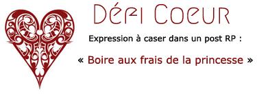 Défis de Carmin Alizarine Coeur216