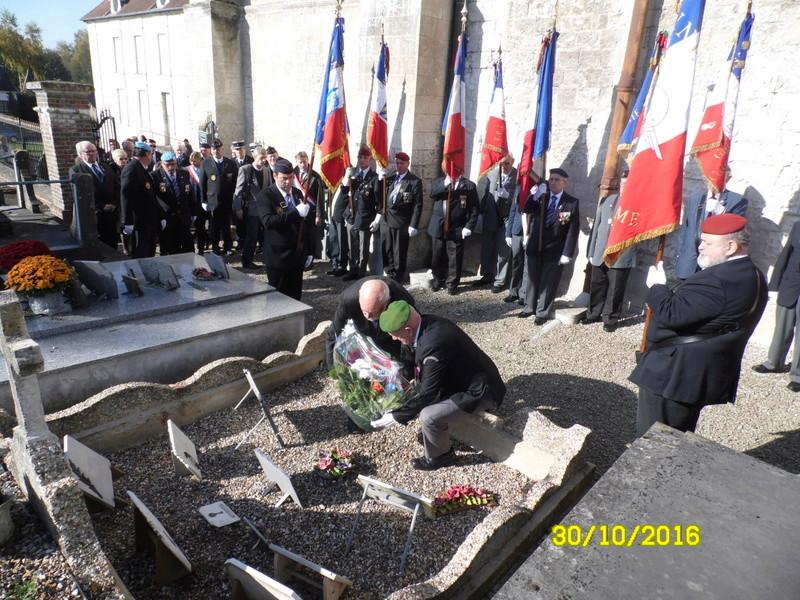 hommage a un ancien Légionnaire  14910